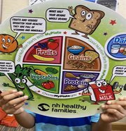 Importance of eating healthy food/tea